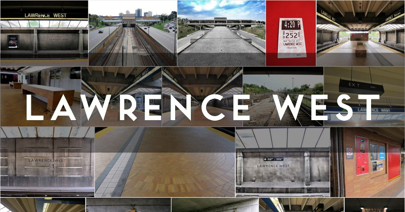Lawrence West TTC station photo gallery