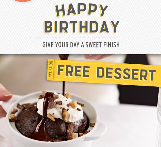 A Super Savvy Saver Birthday Freebies