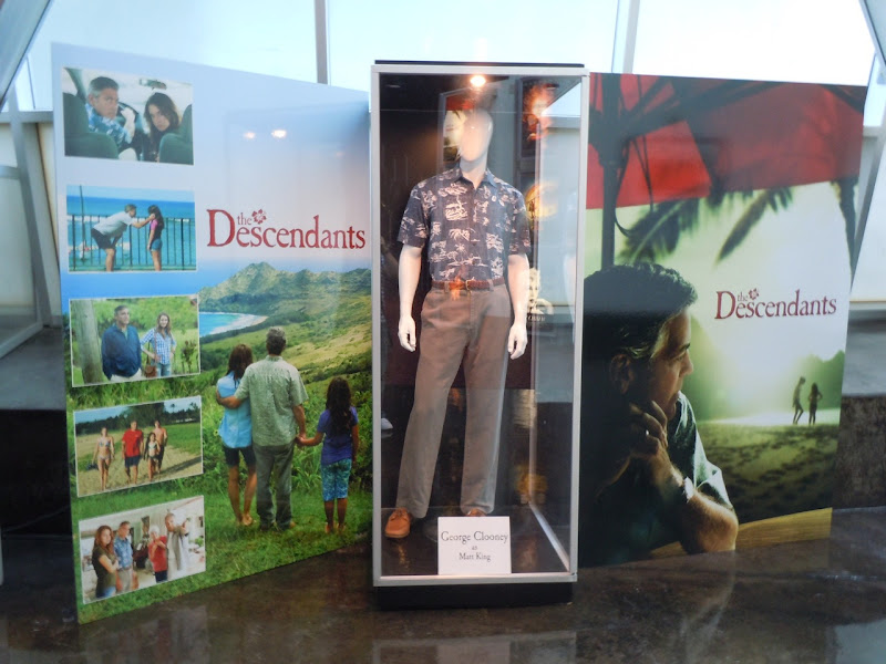 The Descendants costume exhibit
