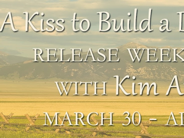 Initial Thoughts About A Kiss to Build a Dream On + Blog Tour Giveaway