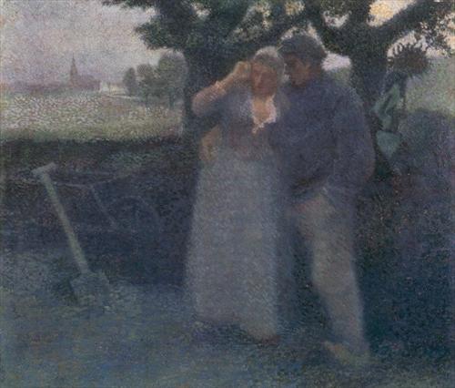 TOOROP, Jan; Jean Theodoor Toorop (1858-1928).