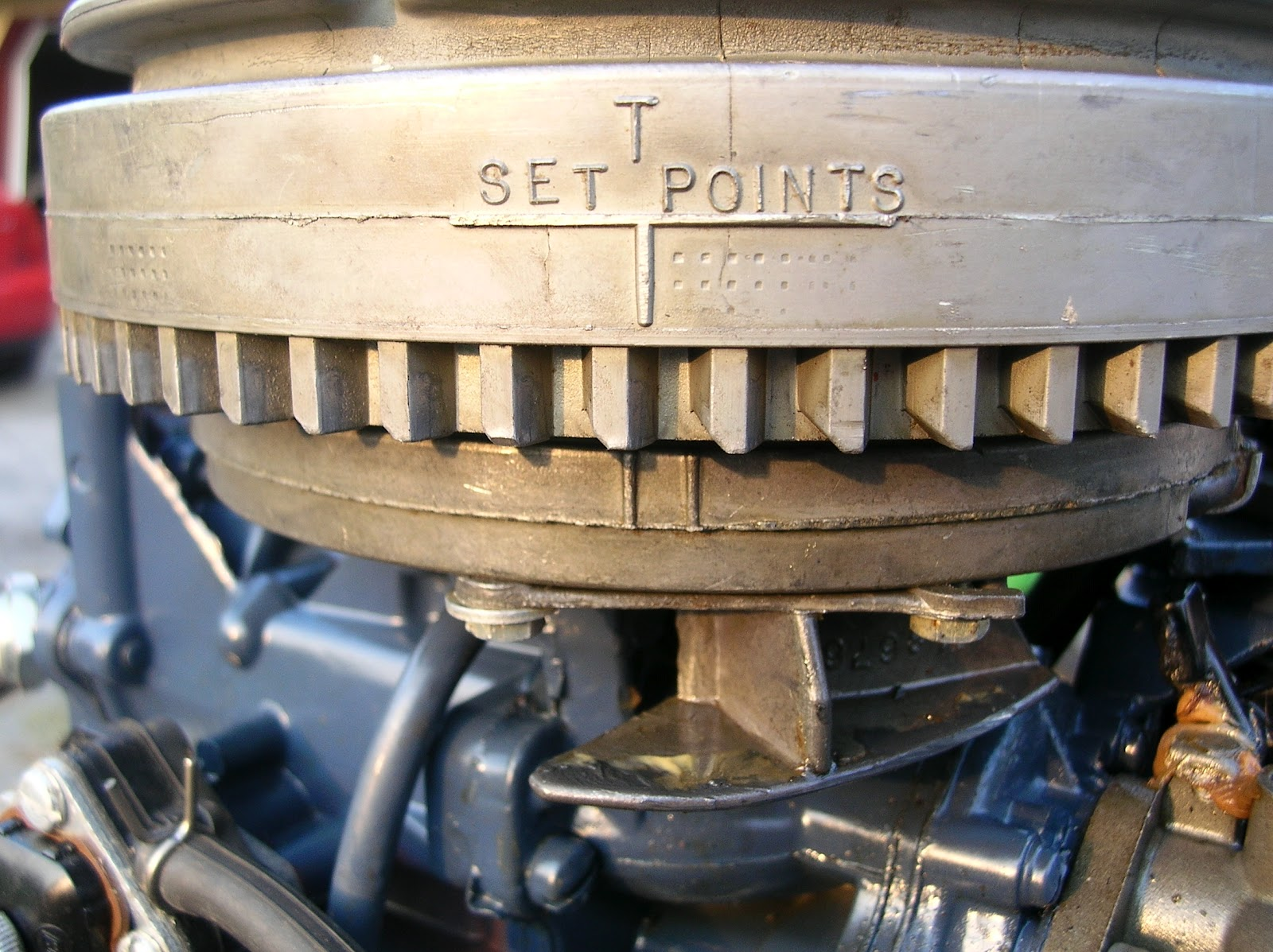 Low speed operation RPM is primarily controlled by the timing. The  carburetor's throttle plate is at it's idle setting throughout the low  speed range, ...