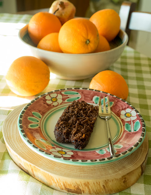 torta cacao e arancia senza senza