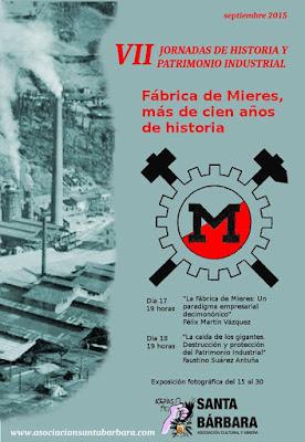 VII Jornadas Historia y Patrimonio Industrial, Mieres
