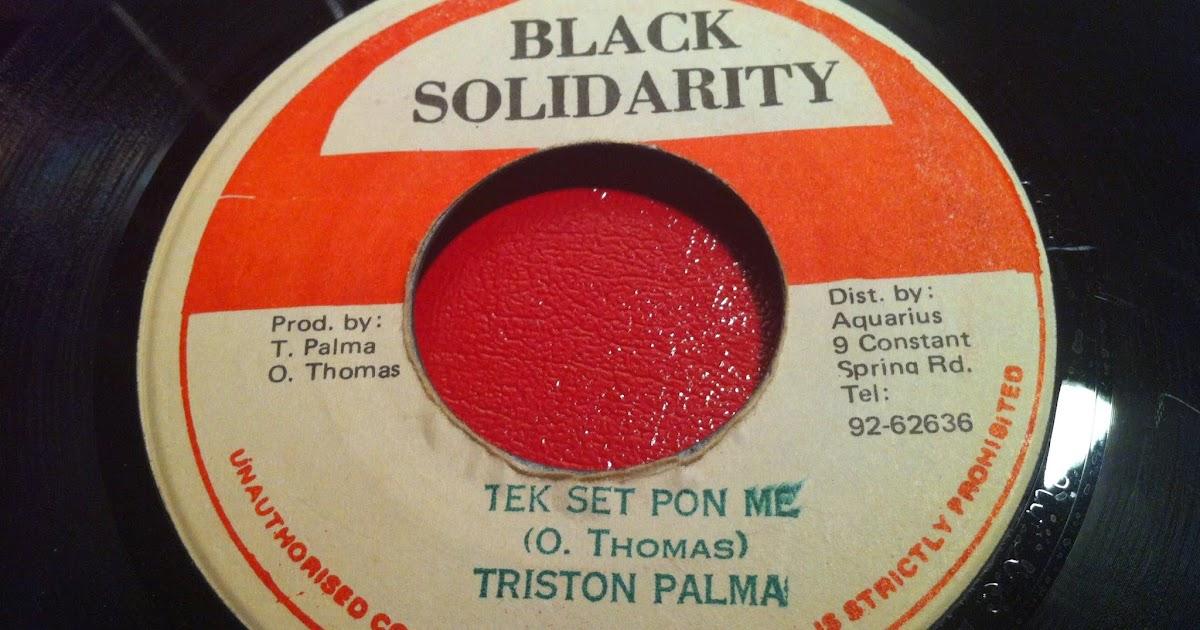 Tristan Palmer* Triston Palma·/ Early B * Early B The Doctor - Triston Palma Meets Early B The Dj Doctor