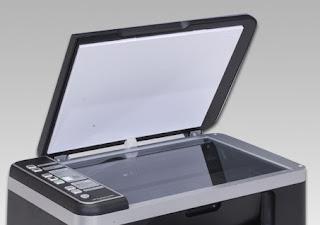 Scanner tambahan pada Printer