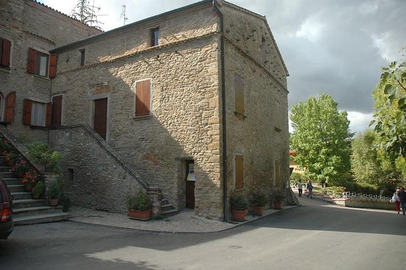 Birthplace of Benito Mussolini in Predappio, Emilia Romagna, Italy