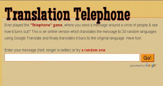 Play the Translation-Telephone Game Online