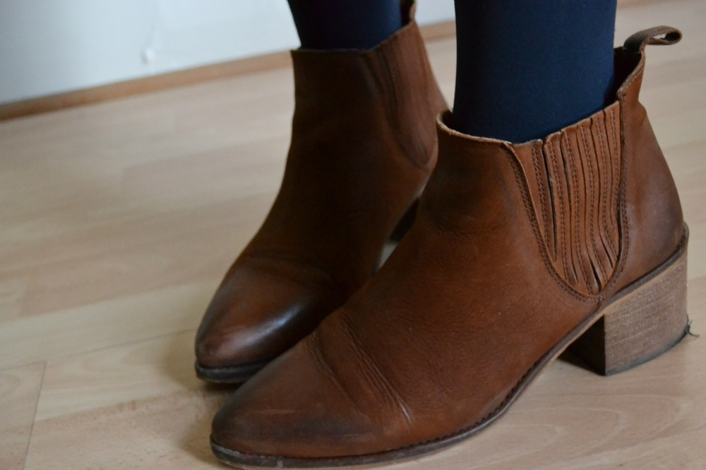 tan leather ankle boots office indiana