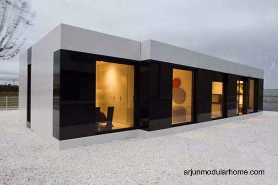 Casa residencial modular estilo Minimalista