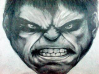 Rosto de personagem irritado (desenho)