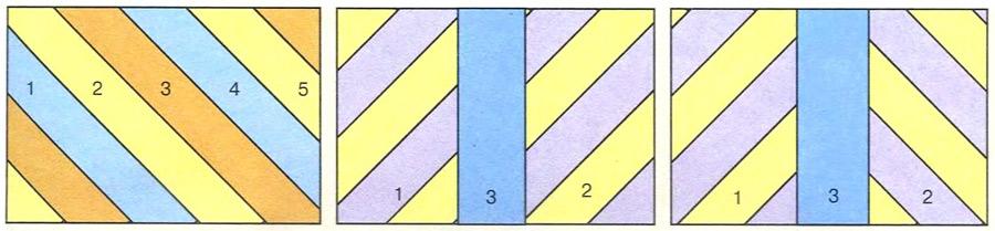 Пэчворк. Дизайн «Произвольные полосы»