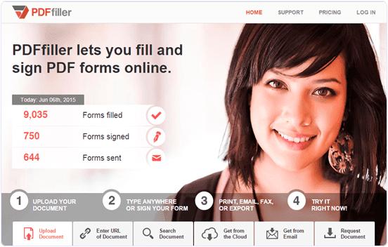 PDFFiller-Online-PDF-Editor