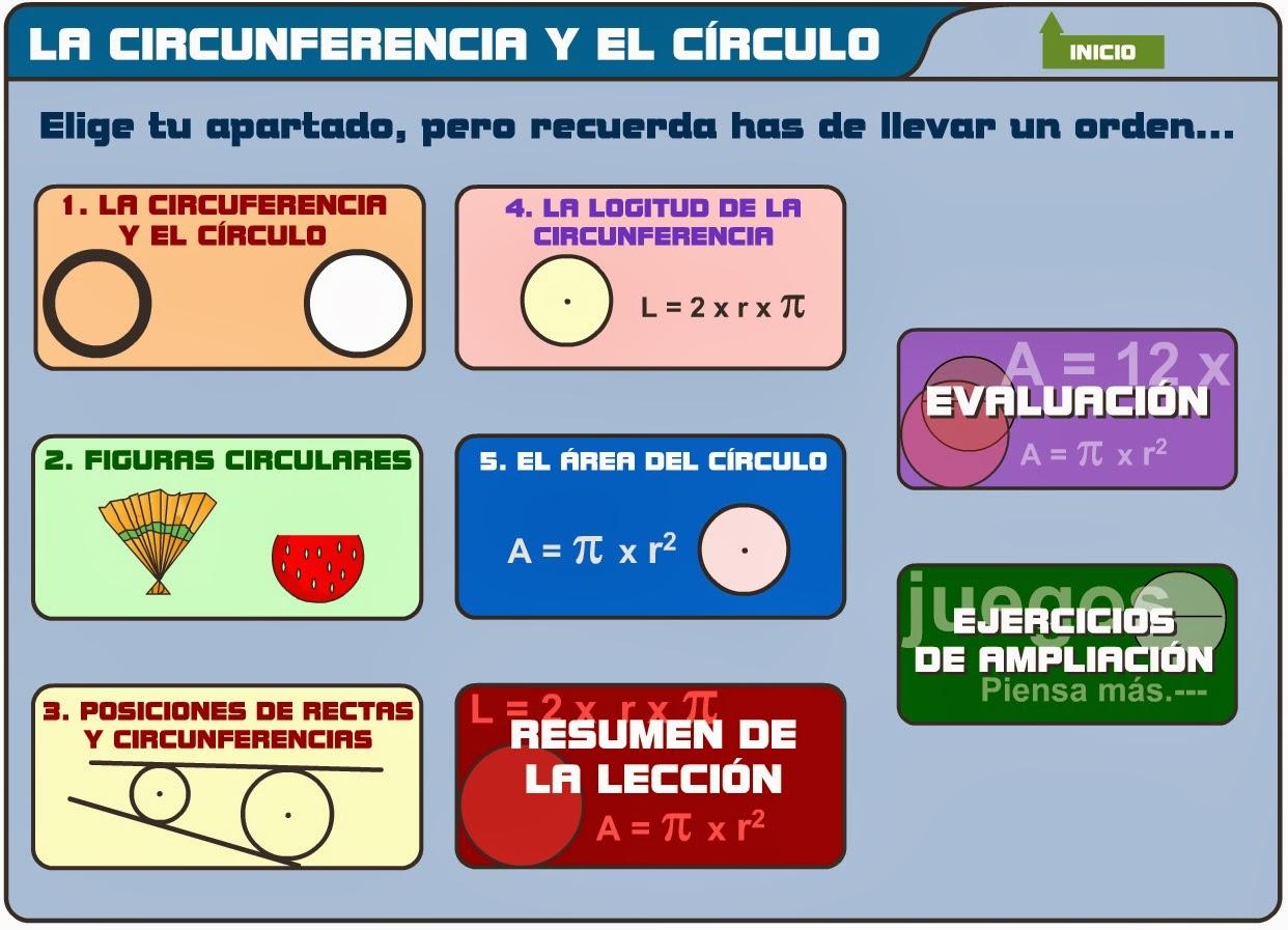 http://www.ceiploreto.es/sugerencias/cp.beatrizgalindo.alcala/archivos/circuloycircunferencia/menu.html