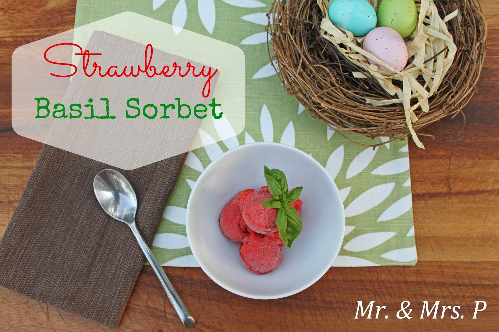 ... strawberry basil sorbet strawberry basil sorbet strawberries basil