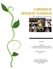 II Concurso de Críticas de Telenovelas HdT