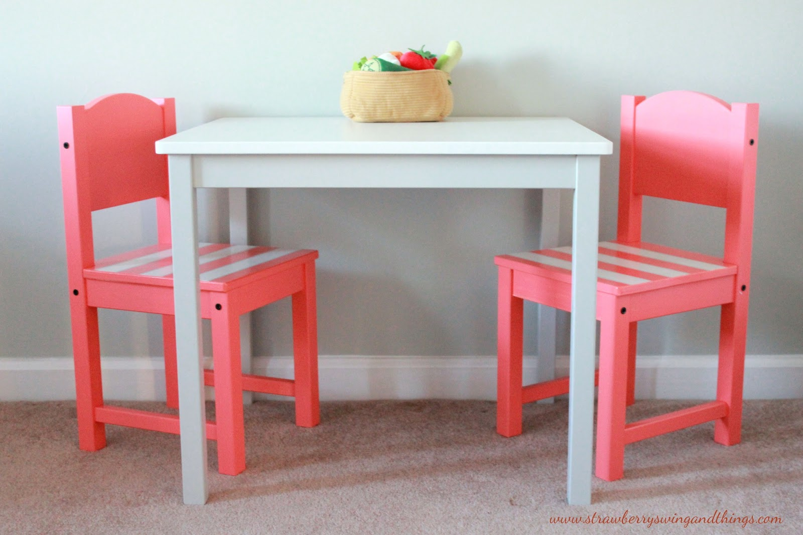 swing and other things crafty lady children 39 s table ikea hack