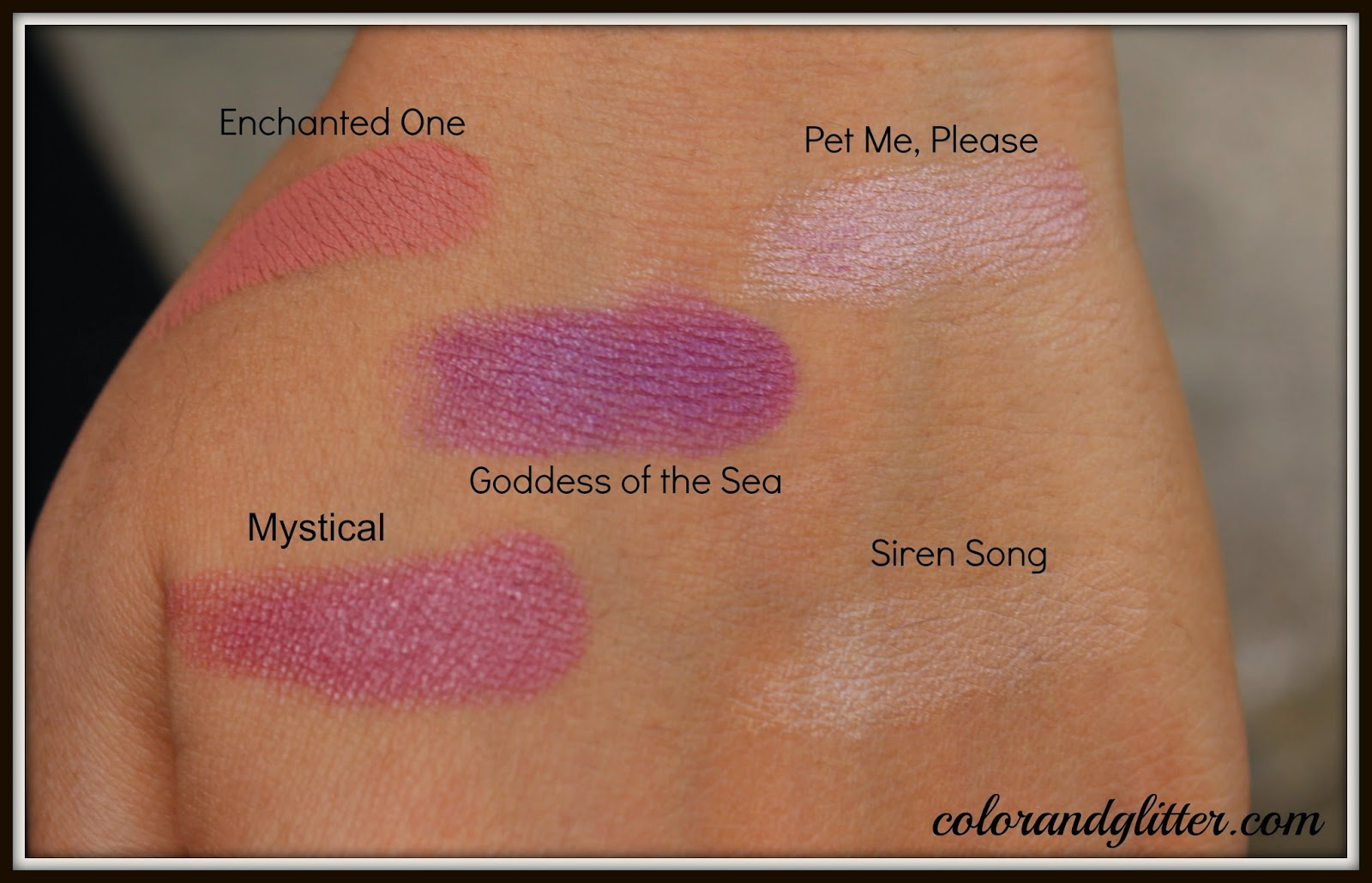 MAC Alluring Aquatic Collection Lipsticks Review and Swatches