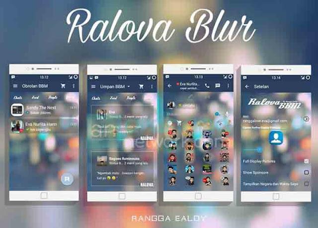 BBM Ralova Blur V2.9.0.51