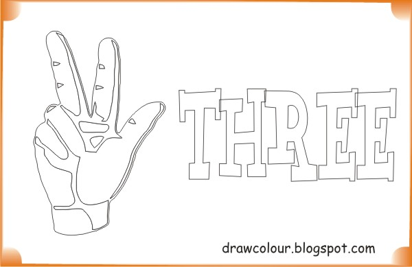 printable-three -fingers-coloring-pages