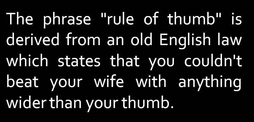Rule of thumb - Wikipedia