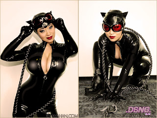 And here is Catwoman comic art by Guillem March [shown below]: