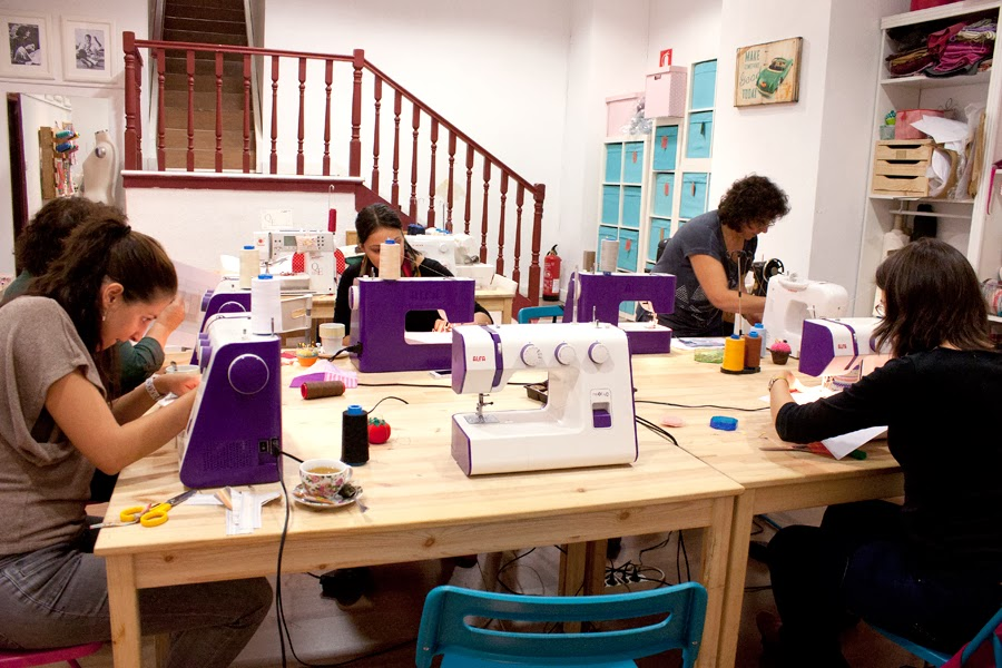 Taller INICIACION AL PATCHWORK en sweet sixteen craft store Madrid