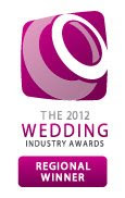 We are 2012 Wedding Award Winners