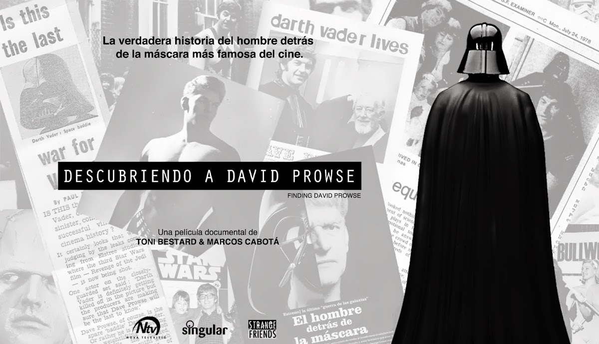 FINDING DAVID PROWSE (Descubriendo a David Prowse)