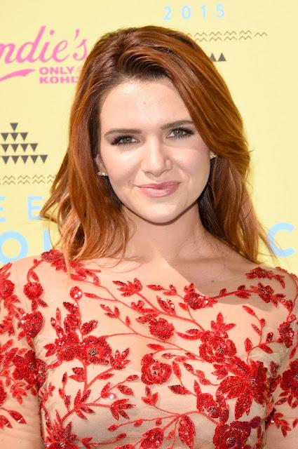Actress, Singer @ Katie Stevens - 2015 Teen Choice Awards in LA