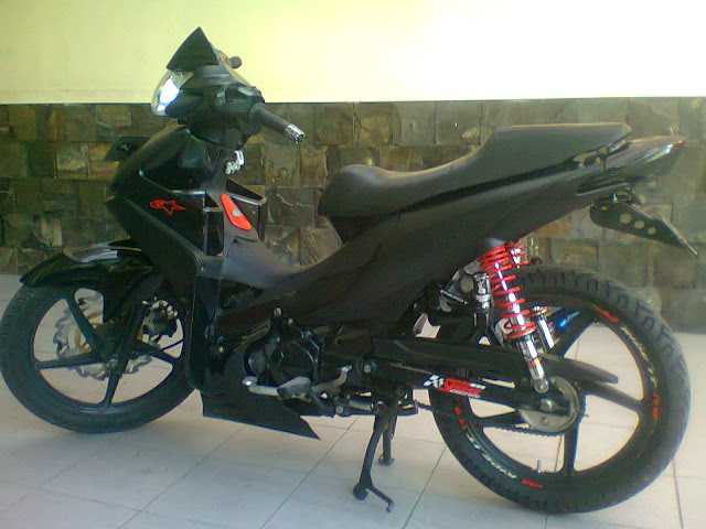 Honda Absolute Revo Racing Look Black Modification