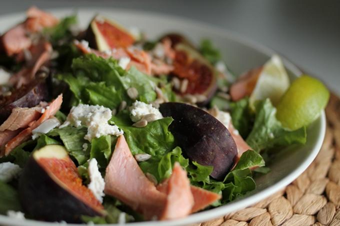 herkku salaatti terveellinen iltapala erilainen salaatti