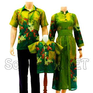 SK014 Sarimbit Batik Keluarga Pasangan Solo 2013