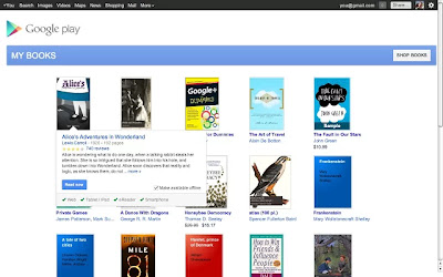 Google Play Books para o Chrome