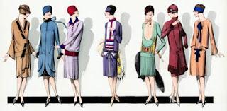 1920s fashion lineup