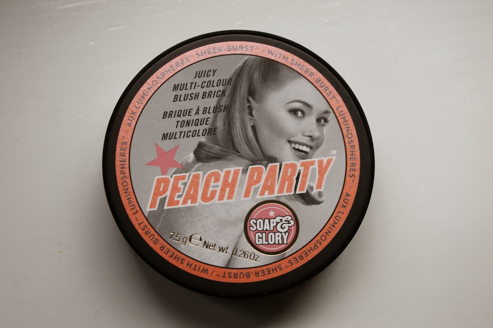 Soap and Glory Blush Brick in Peach Party