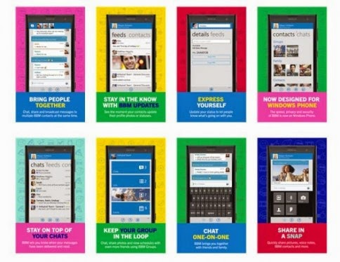 BBM Versi Final Windows Phone