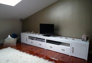 muebles bajos de televisin