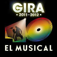 del 16 al 19 de febrero de 2012 el musical de Los Cuarenta Principales