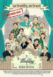 Film The Wedding & Bebek Betutu 2015