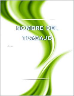 descargar portadas para word 2010