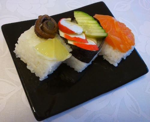 Ikea Silvester vita in vitro rice cube review bonus pics sushi dorayaki and