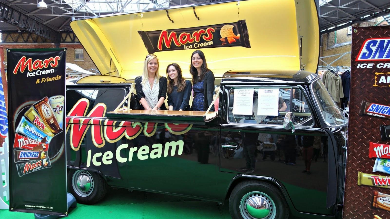 Mars Free Ice Cream Spitalfields London