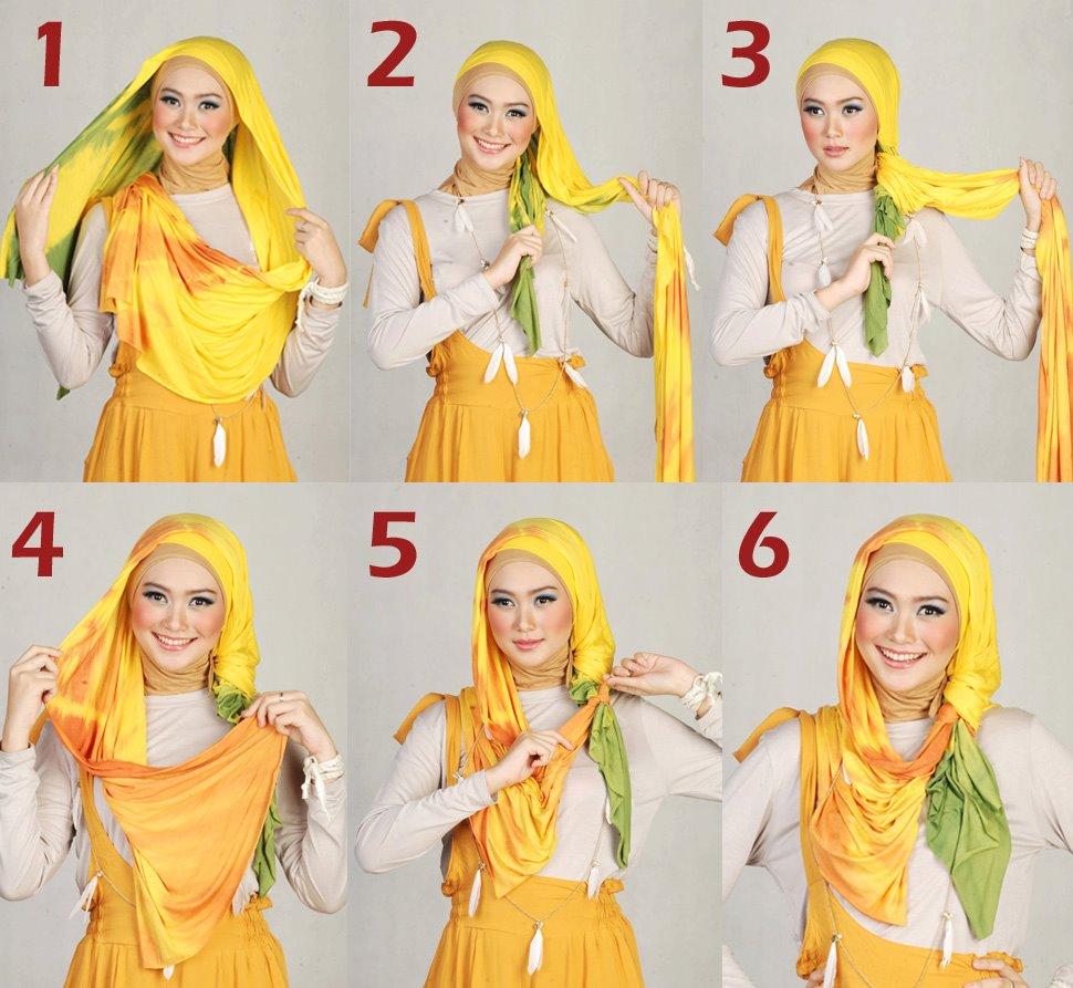 Trend Hijab Masa Kini April 2014