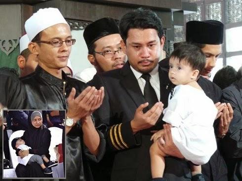 MH17 Anak lelaki Ahmad Hakimi sertai solat jenazah bapanya