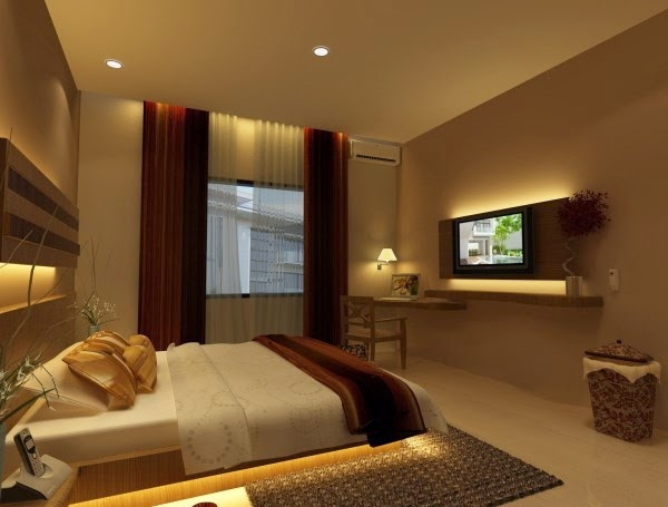 contoh gambar desain kamar tidur minimalis 2016