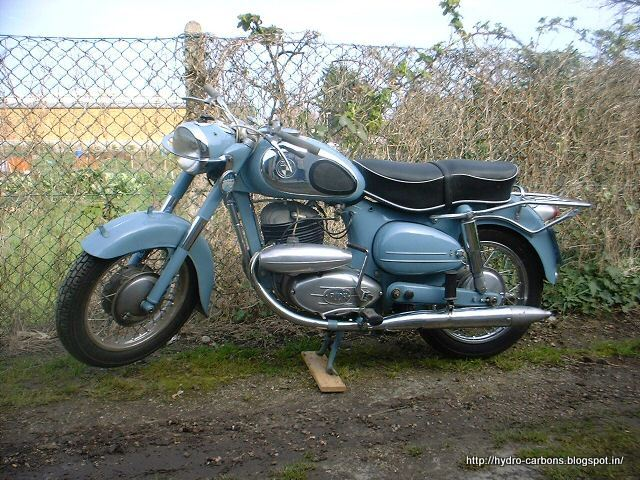 Daimler Puch Motorcycle Form Steyr-daimler-puch