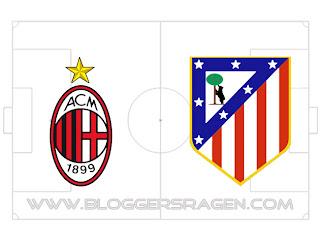 Prediksi Pertandingan Atletico Madrid vs AC Milan