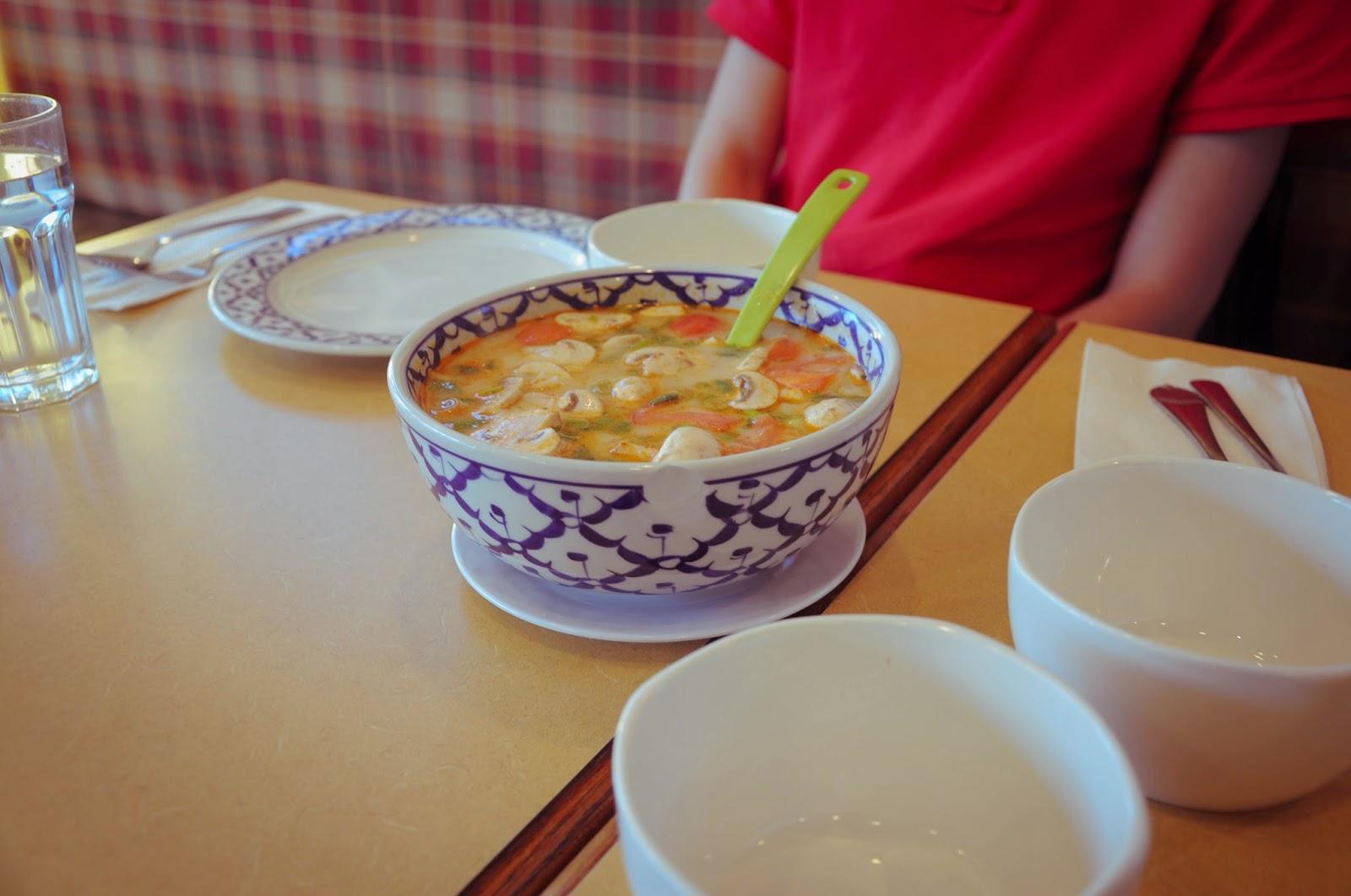Thai cuisine, Tom Kha Gai (Kai) \ Тайская кухня, суп Том Ка Гай