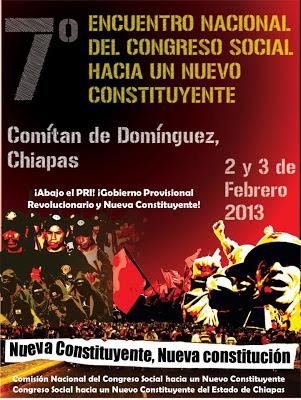 VII Encuentro Nacional del Congreso Social Hacia un Nuevo Constituyente